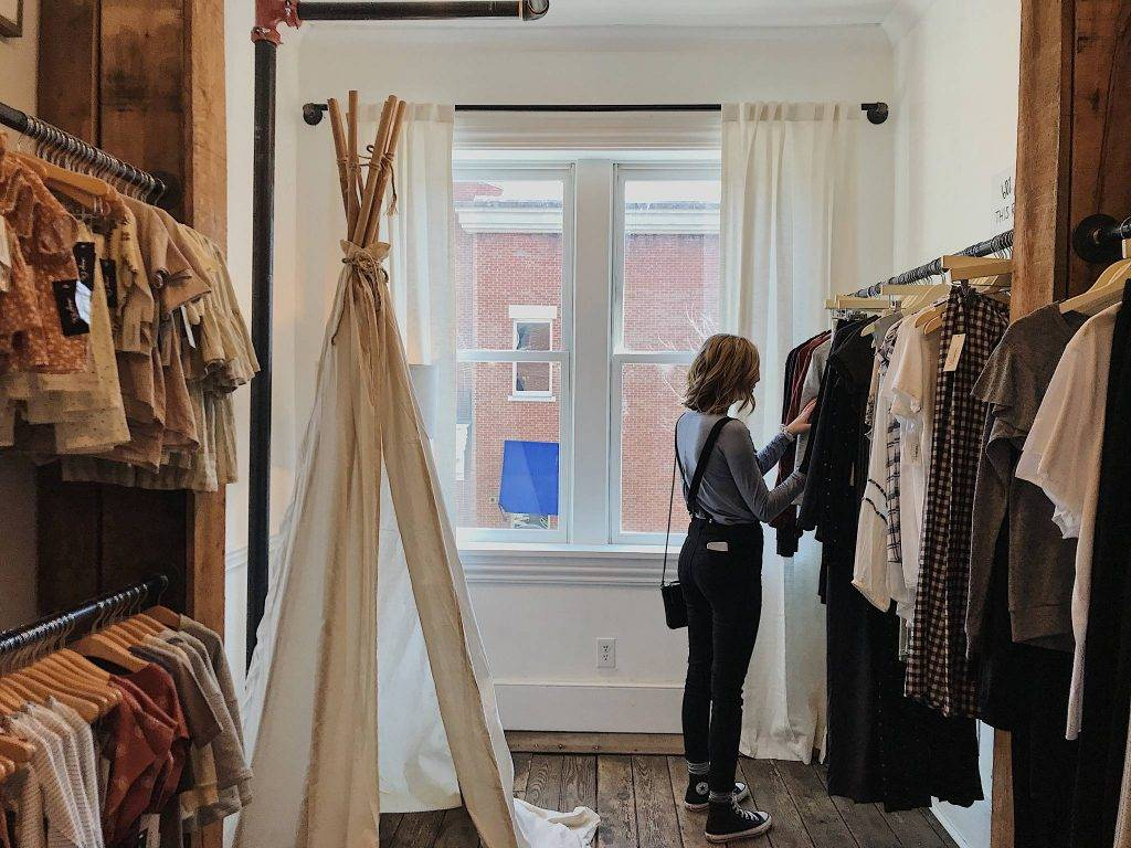 sustainable wardrobe