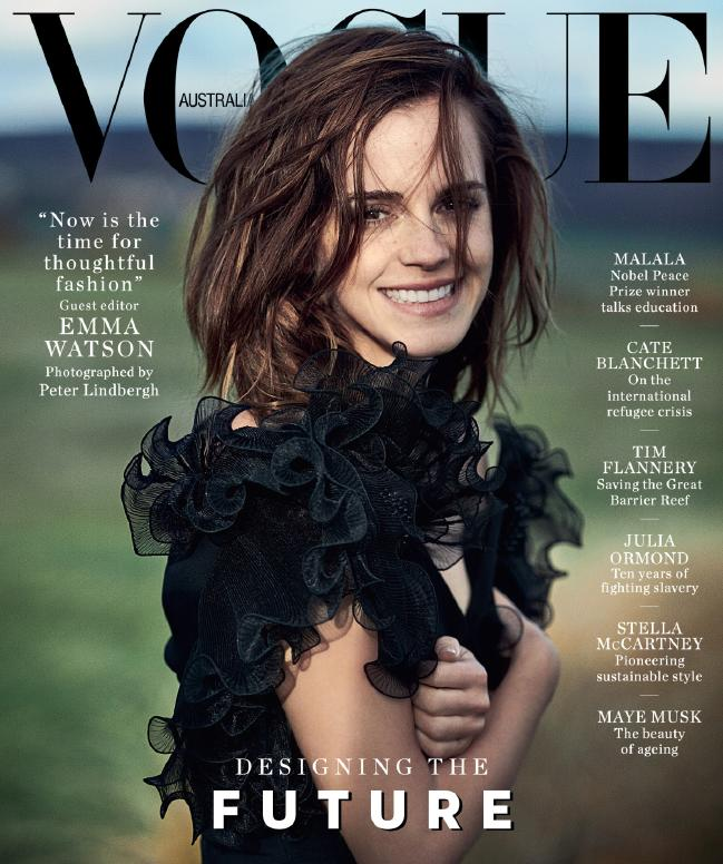 Vogue Australia March Emma Watson
