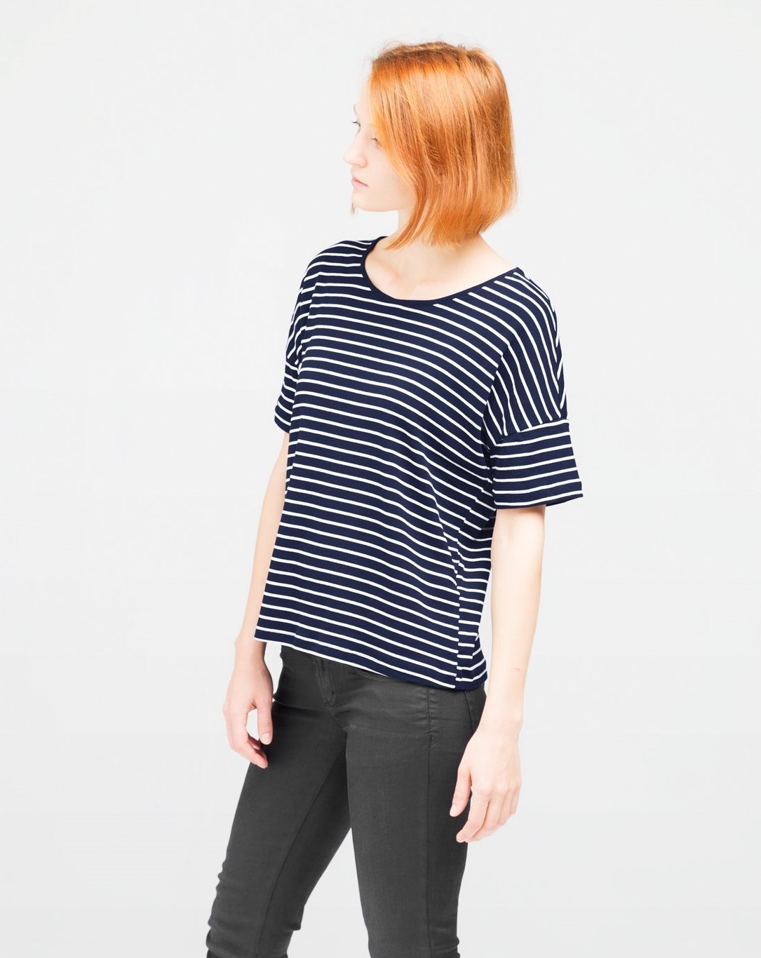 ethical striped tee
