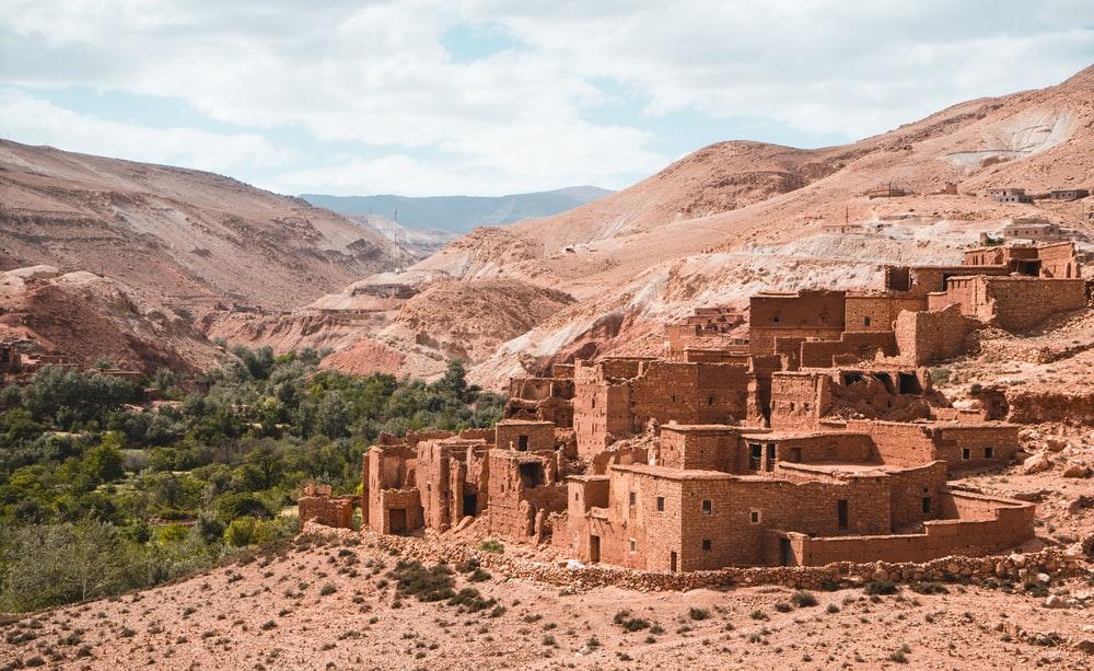 Kasbah Telouet Morocco climate change